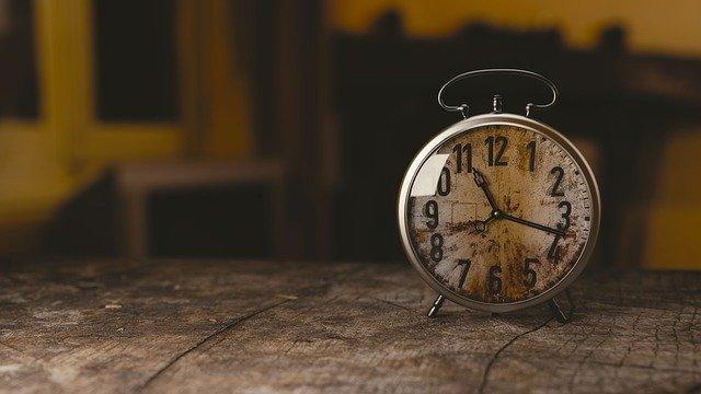 Часы, время идет