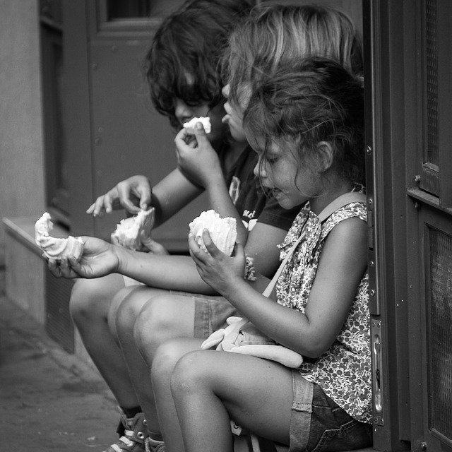 Дети на пути обжорства