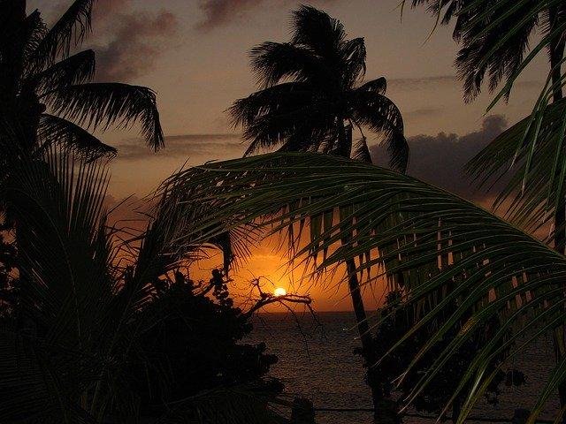 Райский закат
