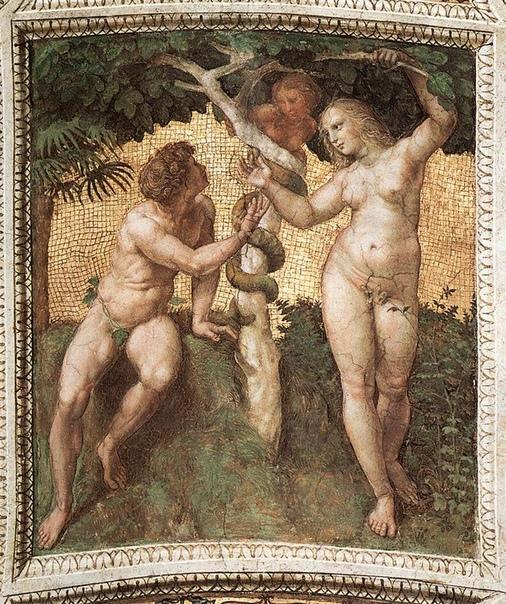 Адам, Ева и змей